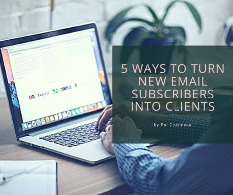 5 Ways to Turn New Email Subscribers into Customers